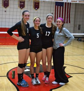 WCAC girls volleyball 2014