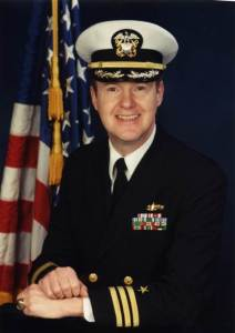 Mr Grodek Navy Retirement Photo