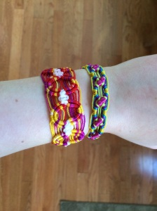 Pulseras, like the one shown above, are being sold in the PVI cafeteria during lunches throughout the week of April 18-22 (Maria Grau/Panther Press)