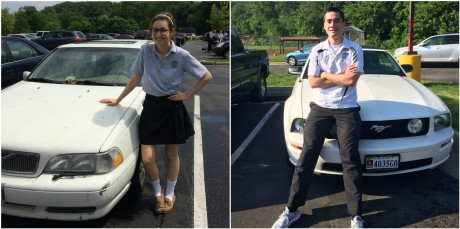 Coolest Car in the Parking Lot: Sophie Mestas and Peter Sullivan