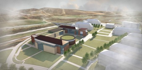 Rendering of Paul VI's Loudoun campus, courtesy of VMDO Architects.